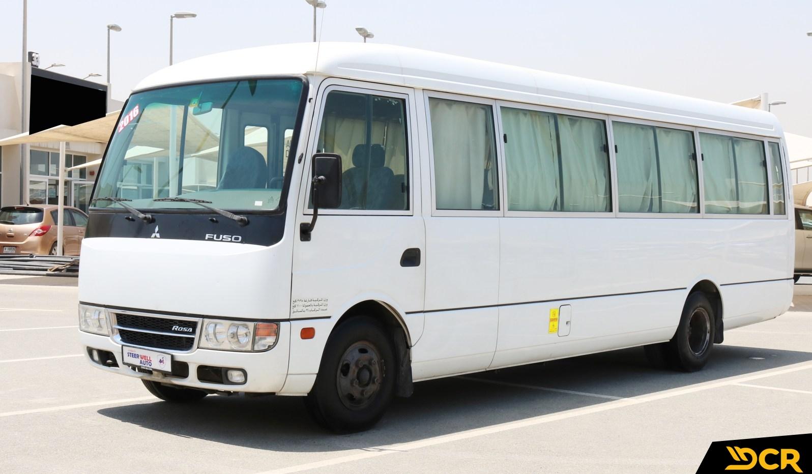 Mitsibishi Rosa with driver